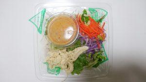 蒸し鶏と野菜たっぷりパスタサラダ4-ファミリーマート