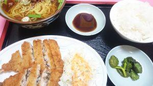 アジフライ定食1-味A新広見店