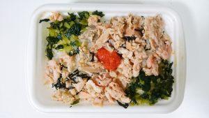 鮭と明太子ののっけ御飯2-セブンイレブン