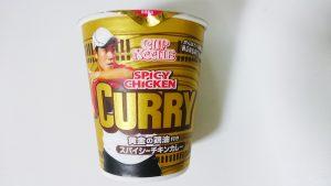 日清カップヌードルスパイシーチキンカレー2