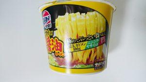 【スーパーカップ極太盛り】ニンニク・ヤサイ入り豚骨醤油ラーメン3