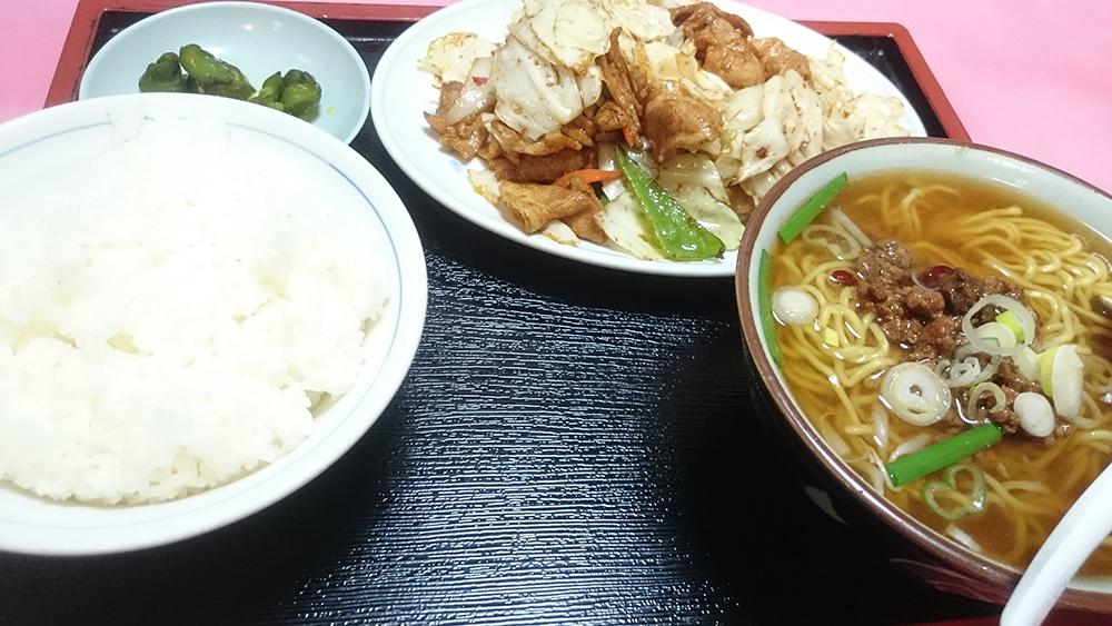 ホイコーロー定食-味A新広見店
