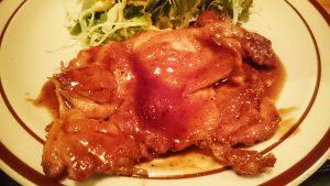チキンステーキ定食2-ヴァウヴァックスヴォーグ