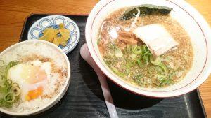 節系醤油ラーメン1-麺や黒平