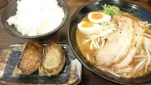 三河味噌ラーメンジャンボ餃子セット1-元祖三河味噌ラーメンおかざき商店