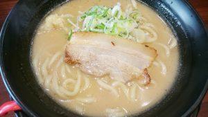 太麺ラーメン並2-ラーメン番長銀次郎大口店