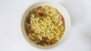 カップヌードルリッチ贅沢とろみフカヒレスープ味9