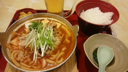 味噌チゲ定食1-ジョイフル土岐肥田店