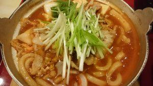味噌チゲ定食2-ジョイフル土岐肥田店