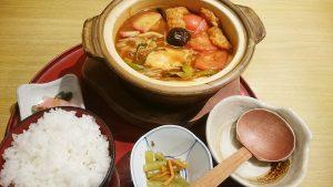 トマトみそ煮込定食1-和食麺処サガミ