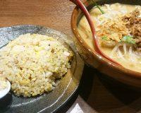 北海道味噌ラーメン+ミニチャーハンセット1-田所商店春日井店