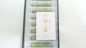お土産にもらった京のほんまもん!茶の菓10枚入6