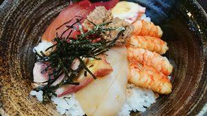 海鮮丼ランチ2-かに茶屋