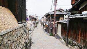 清水寺参道の帰り道2