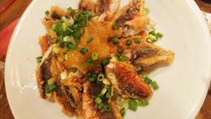 魚のフライの何か-南風花アクアシティお台場店