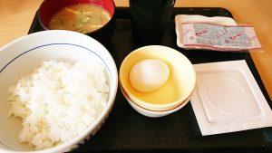 納豆朝定食1-丼ぶりと京風うどんのなか卯
