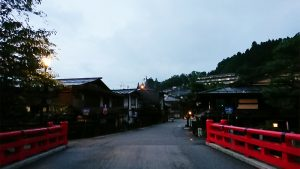 飛騨高山の代表的な橋、宮川中橋