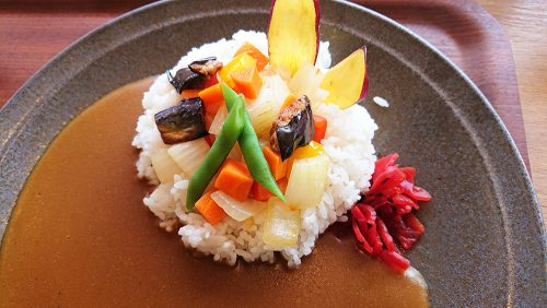 季節野菜カレー1-三島スカイウォーク