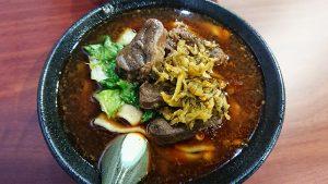 台北のおいしい牛肉麺その1