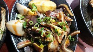 台北のおいしい牛肉麺のおかず